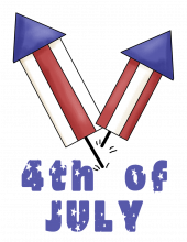 4th of July png