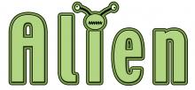 Alien word jpg