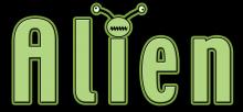 Alien word png