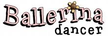 Ballerina wordart jpg