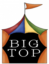 Big top wordart png
