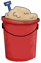 Bucket sand png