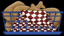 Chicken basket png