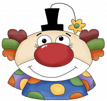 Clown face 2 png
