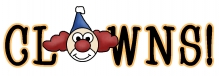 Clowns wordart jpg