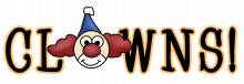 Clowns wordart png