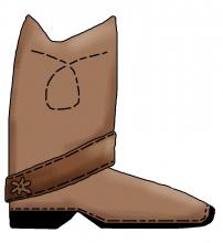 Cowboy boot jpg