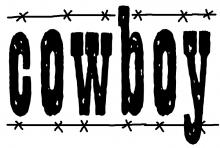 Cowboy word jpg