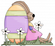Egg bunny png