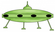 Flying saucer png
