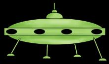 Flying saucer png