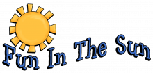 Fun in the sun wordart png
