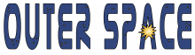 Outer space word png