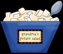 Potato salad png
