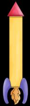 Rocketship 2 png