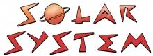 Solar system word jpg