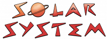 Solar system word png