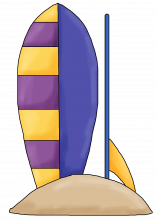 Surf boards png