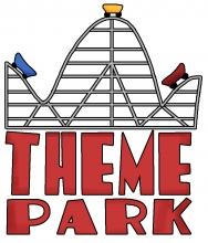 Theme park wordart jpg