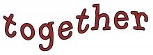 Together wordart jpg