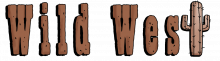 Wild west word png
