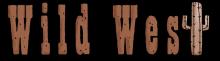 Wild west word png